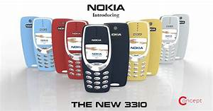 Nokia 3310 Concept Video Suggests Familiar Design  With An