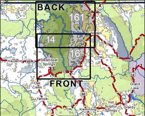 Colorado Hunting Unit Map 161