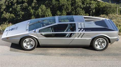 wedge shaped car auctions maserati boomerang