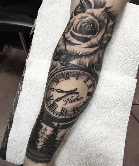 seductive tattoo men arm hints tattoo realistic
