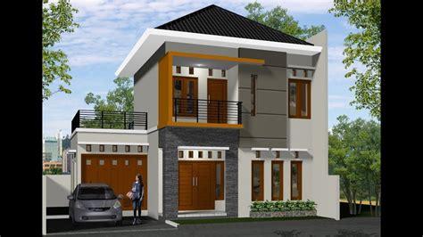 desain rumah sederhana biaya  juta model gambar rumah