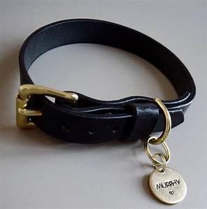 Hundehalsband Mit Namen Leder : hundehalsband schwarz made for dogs ~ Yasmunasinghe.com Haus und Dekorationen