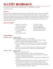 modeling resume sle beginners home day care