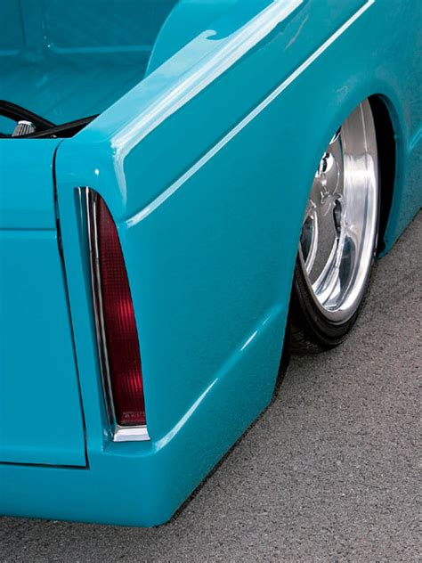 custom  chevrolet   feature truck mini truckin