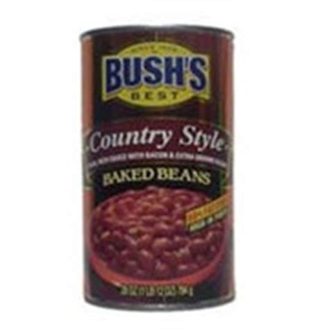 Bush's Best Baked Beans, Country Style Calories