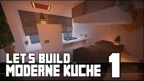 Minecraft Kuche Bauen by Minecraft M 246 Bel Tutorial Moderne K 252 Che Bauen 1
