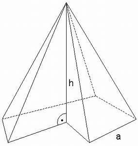 Pyramide Oberfläche Berechnen : aufgabe 2011 w2a ~ Themetempest.com Abrechnung