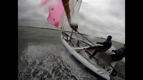 Mirror Zeilboot by Scary Windy Racing In Rs200 Sailing Dinghy Youtube