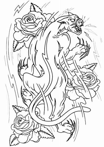 Tattoo Coloring Pages Tattoo1