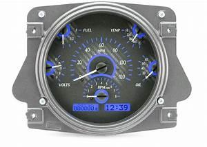 66 To 77 Bronco Dakota Digital Instrument Cluster Vhx