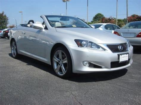 Used 2012 Lexus Is 250 C Convertible For Sale