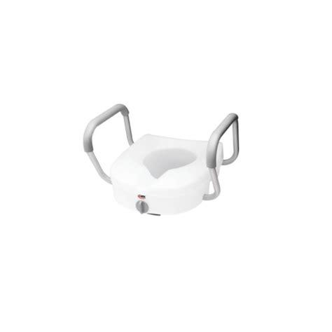 siege andre siège de toilette surélevé avec appui bras ajustables e z