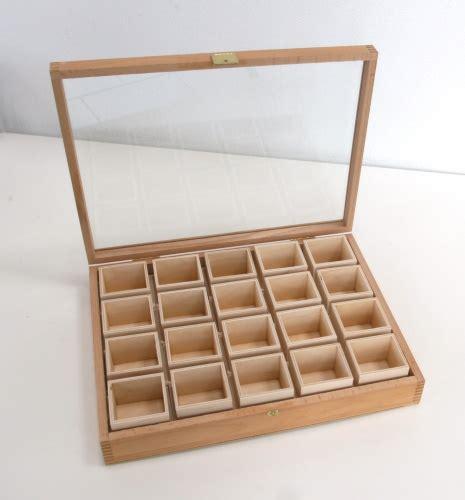 Holzkasten Mittel, Glasdeckel Topgeo