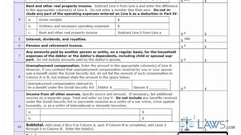 g 4 form how to fill out learn how to fill the form b 22c chapter 13 statement of