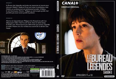 Jaquette Dvd De Le Bureau Des Légendes Saison 3 Dvd 4