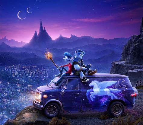 onward  poster  trailer upcoming pixar
