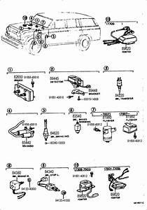 1969 Toyota Land Cruiser Flasher Assy  Turn Signal