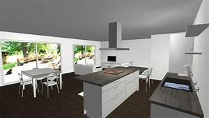 Notre Maison Neuve Ide Dco Salon Salle Manger