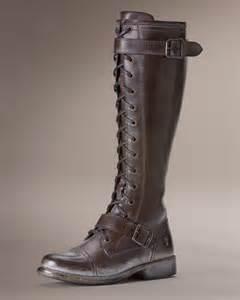 Frye Lace Up Boots Women