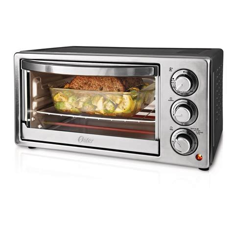 Oster Stainless Steel Convection Countertop Oven by Oster 6 Slice Stainless Steel Convection Toaster Oven
