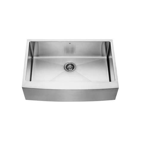 30 stainless steel kitchen sink 30 quot zero radius handmade stainless steel farmhouse apron 7324