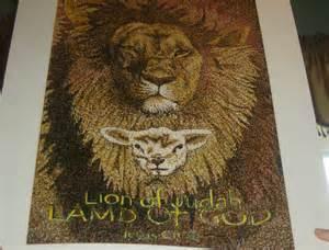 Jesus Lion of Judah Lamb of God