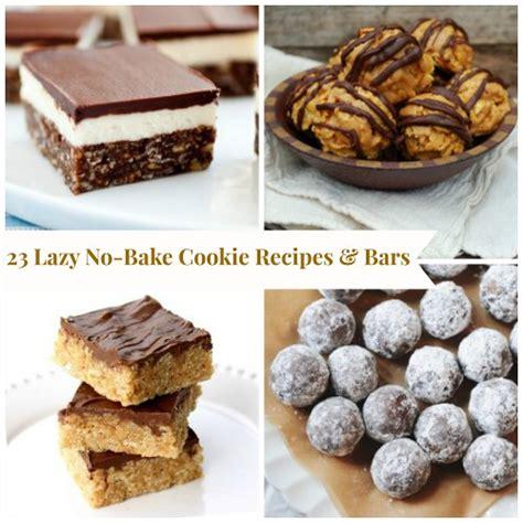easy no bake recipes 23 lazy no bake cookie recipes bar cookie recipes recipelion com