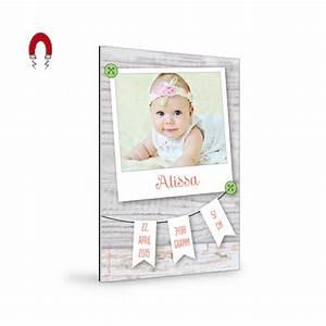 Polaroid Bilder Bestellen : geburtskarten magnet mit foto im polaroid stil und wimpelkette cari okarten ~ Orissabook.com Haus und Dekorationen
