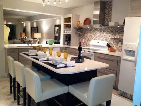 kitchen island with seating for 8 lely remodeled floor condo lake golf vrbo Kitchen Island With Seating For 8