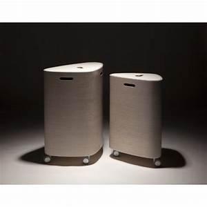 Panier A Linge Design : nouveau panier linge en bois design punkalive ~ Teatrodelosmanantiales.com Idées de Décoration