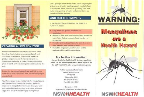 Warning poster template