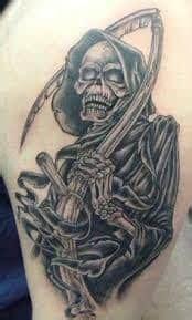 grim reaper tattoos   artists top shops