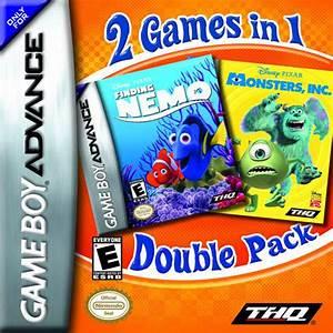 Finding Nemo And Monsters Inc Bundle Nintendo Game Boy Advance