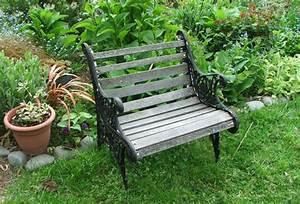 Supersized garden seats for Small garden bench