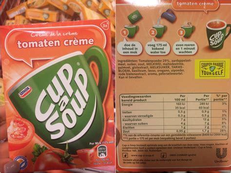 Voedingswaarde soep