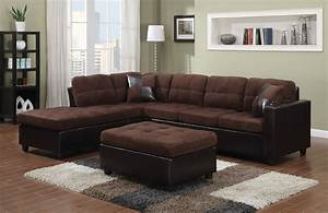 Left sided sectional sofa contemporary black leather for Black sectional sofa