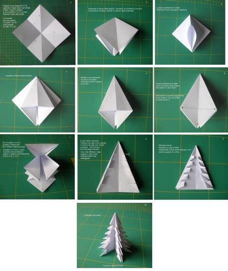 albero di natale diy origami pinterest albero
