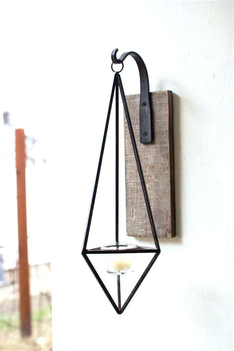 wrought iron hanging ls candle holders metal hanging decorative crystal wood
