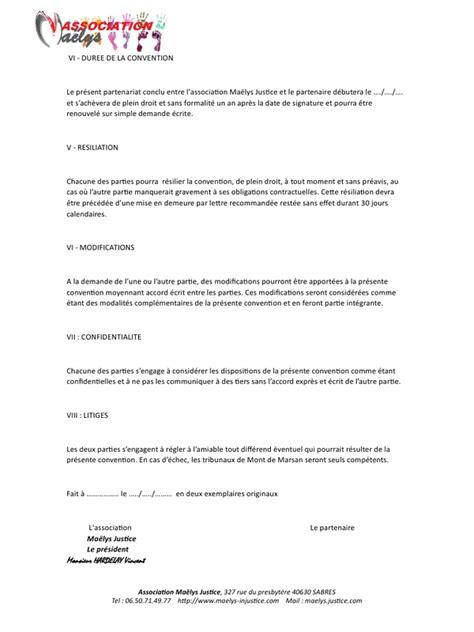 modèle lettre de partenariat commercial contrat partenariat pdf par windows user fichier pdf