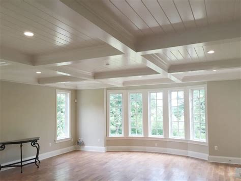 coffered ceiling   groove windsorone
