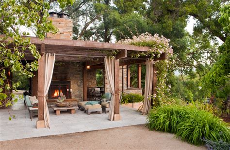wrought iron curtain rods for corner en güzel verandalar en güzel evler