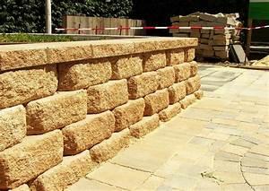 Beton Pflanzkübel Als Mauer : bayfield system trockenmauersteine der firma rinn kleine b schungsmauer beton trockenmauer ~ Udekor.club Haus und Dekorationen