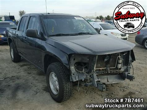 Chevrolet Colorado Parts by Used Parts 2006 Chevrolet Colorado 3 5l L52 2wd Subway