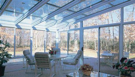 aluminum straight eave glass roof sunrooms patio enclosures