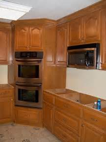 Corner Kitchen Cabinet Ideas Corner Oven Leave Microwave Where It Is Put Drop In Range M Icrowave Kitchen Remodel