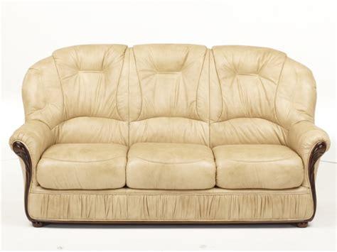 canape fauteuil canapé et fauteuil en 100 cuir et 3 coloris debora