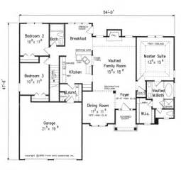 One Story House Floor Plans