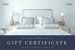 Blue Gray Bedroom Photo Hotel Gift Certificate