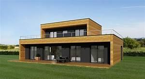 avantage maison ossature metallique maison ossature acier With maison en kit ossature metallique