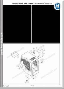 Gehl Sl4640e Sl5240e Skid Steer Loaders Parts Manual